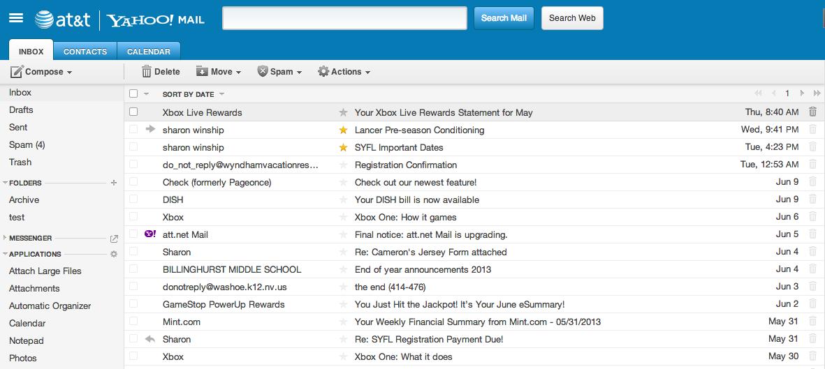 yahoo mail login screen - photo #40