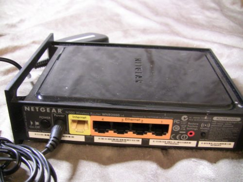 Netgear router power cable plugged in